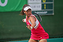 Eri Hozumi, ..AUGUST 2, 2011 - Tennis : DUNLOP All Japan Junior Tennis Championships 2011, U-18 Women's Singles 2nd Round match at Utsubo Tennis Center, Osaka, Japan. (Photo by Akihiro Sugimoto/AFLO SPORT) [1080]
