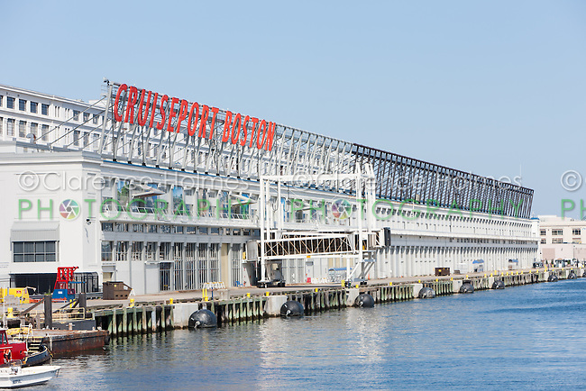 The Black Falcon Cruise Port (also known as Cruiseport Boston) in Boston, Massachusetts