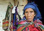 Angela Ramirez is a Maya Mam woman in Tuixcajchis, a small village in Comitancillo, Guatemala.