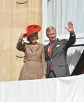 King Philippe of Belgium, Queen Mathilde celebrate their 'Joyous Entry' in Namur - Belgium