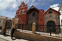 Catholic church in Potosi, Bolivia