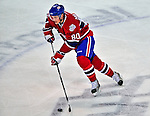 21 December 2008: Montreal Canadiens' center Ben Maxwell in action during the first period against the Carolina Hurricanes at the Bell Centre in Montreal, Quebec, Canada. The Hurricanes defeated the Canadiens 3-2 in overtime. ***** Editorial Sales Only ***** Mandatory Photo Credit: Ed Wolfstein Photo