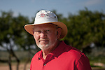Dave Pelz's short-game golf practice facility at his home near Austin, Texas is made of synthetic grass and includes replicas of famous greens. May 22, 2012.