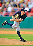 6 March 2011: Atlanta Braves' pitcher Jonny Venters on the mound during a Spring Training game against the Washington Nationals at Space Coast Stadium in Viera, Florida. The Braves shut out the Nationals 5-0 in Grapefruit League action. Mandatory Credit: Ed Wolfstein Photo