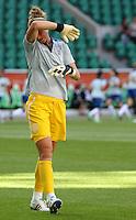 Wolfsburg , 270611 , FIFA / Frauen Weltmeisterschaft 2011 / Womens Worldcup 2011 , Gruppe B  ,  ..England - Mexico ..Torhüterin Karen Bradsley (England)   ..Foto:Karina Hessland ..
