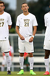 12 September 2014: Pitt's Cory Werth. The University of North Carolina Tar Heels hosted the Pittsburgh University Panthers at Fetzer Field in Chapel Hill, NC in a 2014 NCAA Division I Men's Soccer match. North Carolina won the game 3-0.