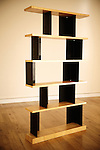Bookshelf, Remi Trudinger, Bookshelf « Typ II », 1956 - Edition Werkgenossenschaft Wohnlife Zurich. Swiss design furniture's sale at the Artcurial Gallery. Paris, France. 4/24/2009. Photo: Antoine Doyen