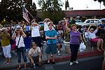 "Spectators welcome filmmaker George Lucas to the American Graffiti Parade in Modesto, California, June 7, 2013. Modesto is celebrating the 40th anniversary of the film ""American Graffiti"", with a parade headed up by native son, filmmaker George Lucas."