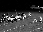 Bethel Park PA:  Lining up for one of the 5 extra points attempted with 4 being successful. After the 3rd touchdown, the Blackhawks went for a two-point conversion after an offsides penalty  - 1970. Others in the photo; Tom Skladany 21, Mike Stewart 11, Clark Miller 30, John Bender 27.  Bethel unvieled their new uniforms against Washington and ended up destroying the Prexies (42-12).  Two touchdowns each by Chip Huggins, Clark Miller and Mike Stewart was the largest offensive output of the season.