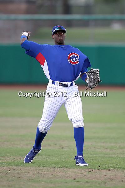 Jorge Soler - 2012 AZL Cubs (Bill Mitchell)