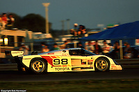 The Eagles of Dan Gurney's All American Racers were among the most popular entries in IMSA's fabled GTP category, with the 1989 24 Hours being the team's first race in the category.