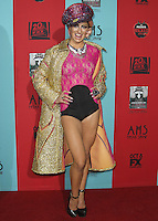 HOLLYWOOD, LOS ANGELES, CA, USA - OCTOBER 05: Neon Hitch arrives at the Los Angeles Premiere Screening Of FX's 'American Horror Story: Freak Show' held at the TCL Chinese Theatre on October 5, 2014 in Hollywood, Los Angeles, California, United States. (Photo by Celebrity Monitor)