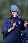14 October 2014: Whitney Engen. The United States Women's National Team held a training session on the stadium field at Swope Park Soccer Village in Kansas City, Missouri in preparation for the CONCACAF Women's World Cup Qualifying Tournament for the 2015 Women's World Cup in Canada.