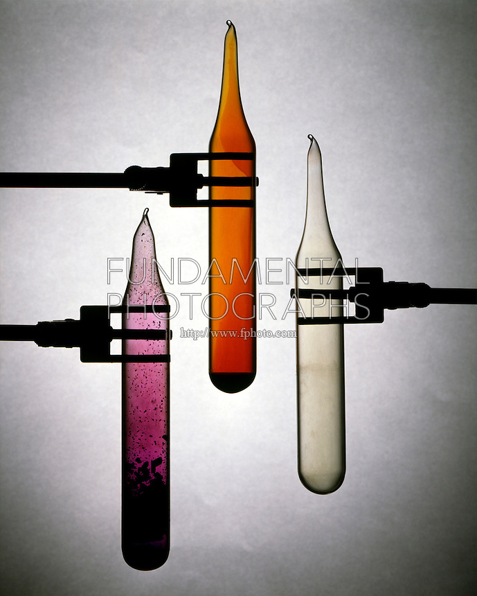 HALOGENS: CHLORINE, BROMINE &amp; IODINE<br /> Group VIIA (7A)<br /> Left to Right: IODINE (I2) -a grayish black solid that readily sublimes to form violet vapor. BROMINE (Br2) -a reddish brown liquid that readily forms vapor of the same color. CHLORINE (Cl2) -a greenish yellow gas at room temperature