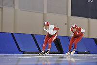 SPEED SKATING: SALT LAKE CITY: 18-11-2015, Utah Olympic Oval, ISU World Cup, training, Bob de Jong (NED), ©foto Martin de Jong