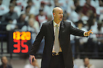 "Ole Miss head coach Andy Kennedy vs. Kentucky at the C.M. ""Tad"" Smith Coliseum on Tuesday, January 29, 2013.  (AP Photo/Oxford Eagle, Bruce Newman).."