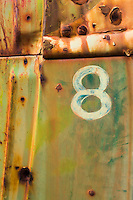 Old Number 8 Truck Panel - Journigan's Mill - Death Valley, CA