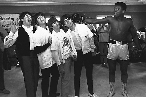 Muhammada Ali con The Beatles