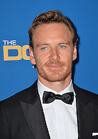 Michael Fassbender at the 69th Annual Directors Guild of America Awards (DGA Awards) at the Beverly Hilton Hotel, Beverly Hills, USA 4th February  2017<br /> Picture: Paul Smith/Featureflash/SilverHub 0208 004 5359 sales@silverhubmedia.com