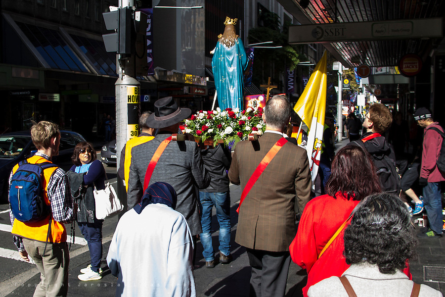 14th Annual procession in honour of Our Lady
