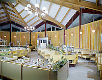 Surfside Restaurant, Wildwood, New Jersey. Retro Restaurant photograph from the 1960's.