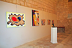 Opening of The CoMA Art Exhibition &quot;Community II&quot;, Cittadella Centre for Culture &amp; Arts, The Citadel, Victoria, Gozo, Malta, 12 March - 3 April 2011 <br />