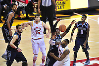 Terrapins' Rober Carter loses the ball. Maryland defeated Georgetown 75-71 during a game at Xfinity Center in College Park, MD on Wednesday, November 17, 2015.  Alan P. Santos/DC Sports Box