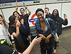 Sadia Khan at London&rsquo;s Night Tube launch at Brixton tube station, London, Great Britain <br /> 19th August 2016 <br /> <br /> Some revellers at Oxford Circus spotted the mayor on the train <br /> <br /> <br /> Sadia Khan, mayor of London,  launched the first night tube service and travelled on a tube train between Brixton and Walthamstow on the Victoria Line. <br />  <br /> He launched the first 24 hour Friday and Saturday night services on the Central and Victoria lines <br /> <br /> Photograph by Elliott Franks <br /> Image licensed to Elliott Franks Photography Services