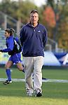Duke head coach Robbie Church on Friday, November 4th, 2005 at SAS Stadium in Cary, North Carolina. The University of North Carolina Tarheels defeated the Duke University Blue Devils 2-1 in their Atlantic Coast Conference Tournament Semifinal game.
