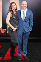 """HOLLYWOOD, LOS ANGELES, CA, USA - MAY 08: Sandra Corddry, Rob Corddry at the Los Angeles Premiere Of Warner Bros. Pictures And Legendary Pictures' """"Godzilla"""" held at Dolby Theatre on May 8, 2014 in Hollywood, Los Angeles, California, United States. (Photo by Xavier Collin/Celebrity Monitor)"""
