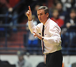 Mississippi State coach Rick Stansbury vs. Mississippi at the C.M. &quot;Tad&quot; Smith Coliseum in Oxford, Miss. on Wednesday, January 18, 2012. Mississippi won 75-68. (AP Photo/Oxford Eagle, Bruce Newman).