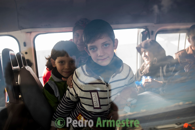 2015/12/02. Molyvos, Lesbos, Grecia. <br /> Three months after the death of Aylan Kurdi, Save the Children remember that the security of the borders can not be above the rights of refugees. Only in Greece, 728,000 refugees have arrived this year, 26% are children. Most small boats have arrived in the Greek island of Lesbos from Turkey. Pedro Armestre / Save the Children.<br /> Tres meses despu&eacute;s de la muerte de Aylan Kurdi, Save the Children recuerda que la seguridad de las fronteras no puede estar por encima de los derechos de los refugiados. Solo a Grecia han llegada m&aacute;s 728.000 personas refugiadas en lo que va de a&ntilde;o, el 26% son ni&ntilde;os. La mayor&iacute;a han llegado en peque&ntilde;as embarcaciones a la isla griega  de Lesbos procedentes de Turqu&iacute;a. Desde la muerte de Aylan m&aacute;s de 120 ni&ntilde;os han muerto en el mar intentando llegar a Europa. <br />  &copy; Pedro Armestre/ Save the Children Handout. No ventas -No Archivos - Uso editorial solamente - Uso libre solamente para 14 d&iacute;as despu&eacute;s de liberaci&oacute;n. Foto proporcionada por SAVE THE CHILDREN, uso solamente para ilustrar noticias o comentarios sobre los hechos o eventos representados en esta imagen.<br /> &copy; Pedro Armestre/ Save the Children Handout - No sales - No Archives - Editorial Use Only - Free use only for 14 days after release. Photo provided by SAVE THE CHILDREN, distributed handout photo to be used only to illustrate news reporting or commentary on the facts or events depicted in this image.