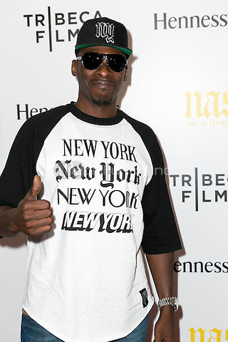 NEW YORK, NY - SEPTEMBER 30: Pete Rock at the New York film Premiere of 'Nas: Time Is Illmatic'  at Museum of Modern Art on September 30, 2014 in New York City. Credit: John Nacion/MediaPunch