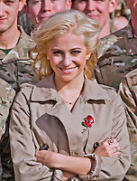 PIXIE LOTT.visits RAF Northolt to meet members of The Royal Air Force - UK