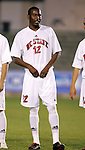 NC State's Aaron King on Wednesday, November 9th, 2005 at SAS Stadium in Cary, North Carolina. The University of North Carolina Tarheels defeated the North Carolina State University Wolfpack 1-0 during their Atlantic Coast Conference Tournament Quarterfinal game.
