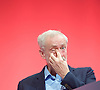 Labour Conference, Brighton, Great Britain <br /> 27th September 2015 <br /> <br /> Jeremy Corbyn MP <br /> <br /> <br /> Photograph by Elliott Franks <br /> Image licensed to Elliott Franks Photography Services