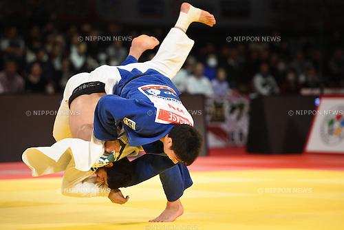 Takanori Nagase (JPN), <br /> DECEMBER 5, 2015 - Judo : <br /> IJF Grand Slam Tokyo 2015 International Judo Tournament <br /> Men's -81kg final<br /> at Tokyo Metropolitan Gymnasium, Tokyo, Japan. <br /> (Photo by AFLO SPORT)