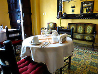 Hotel Naemi, dining area, Zona Colonial, Santo Domingo, Dominican Republic