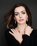 Actress Anne Hathaway photographed in New York for Art & Soul in partnership with The Creative Coalition and Sony