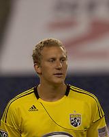 Columbus Crew forward Steven Lenhart (32). The New England Revolution tied Columbus Crew, 2-2, at Gillette Stadium on September 25, 2010.