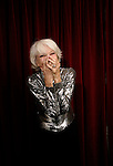LOS ANGELES,CA - OCTOBER 3,2009: Carol Channing, 88 year old broadway legend of hello dolly fame, photographed October 3, 2009 in Los Angeles. Channing is appearing with several other broadway types at UCLA on Oct. 11, called Broadway voices for art education. .( Photo: Spencer Weiner/ Los Angeles Times).152606.CA.1003.channing