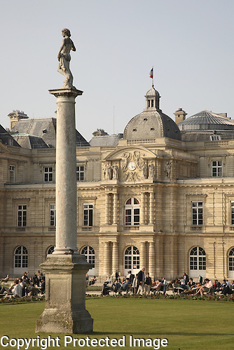 Jardin and Palais du Luxembourg, Paris, France