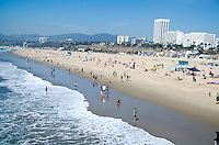 Santa Monica Beach on Monday, March 11, 2013.