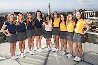 Cal Golf W Portraits and Team Photo, November 1, 2016