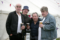 5/9/10 Steve Frost, Andy Smart, Steve Steen and Phill Jupitus at Electric Picnic in Stradbally, Co Laois. Picture:Arthur Carron/Collins