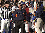Broncos head coach Mike Shanahan on Sunday, December 22, 2002, in Oakland, California. The Raiders defeated the Broncos 28-16.