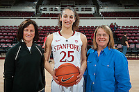 STANFORD, CA-JANUARY 18, 2012 - Erica Payne after Stanford's win over the visiting Washington State Cougars. The Cardinal defeated WSU 75-41.