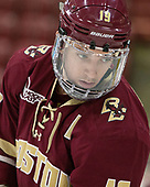 Ryan Fitzgerald (BC - 19) - The Harvard University Crimson defeated the visiting Boston College Eagles 5-2 on Friday, November 18, 2016, at the Bright-Landry Hockey Center in Boston, Massachusetts.