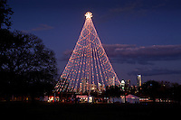 Zilker Tree is lit each evening from 6pm - 12midnight until December 31st.  Admission is free for children and adults.