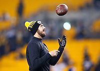 Landry Jones #3 of the Pittsburgh Steelers in action against the Indianapolis Colts during the game at Heinz Field on December 6, 2015 in Pittsburgh, Pennsylvania. (Photo by Jared Wickerham/DKPittsburghSports)